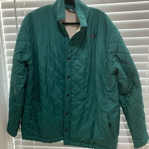 North Face Quilted Lined Jacket - Size XL